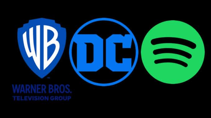 Alianza de Warner Bros y DC Comics en Spotify