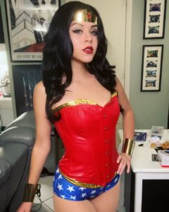 SnarkyJay cosplay Wonder Woman Classic